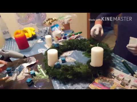 Adventskranz selber machen how to youtube for Adventskranz selber machen youtube