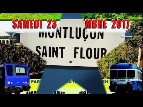 Train touristique AAATV Montluçon Auvergne  Montluçon St Flour