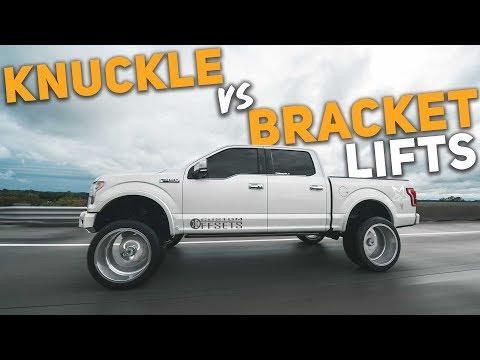 Knuckle VS Bracket Lifts