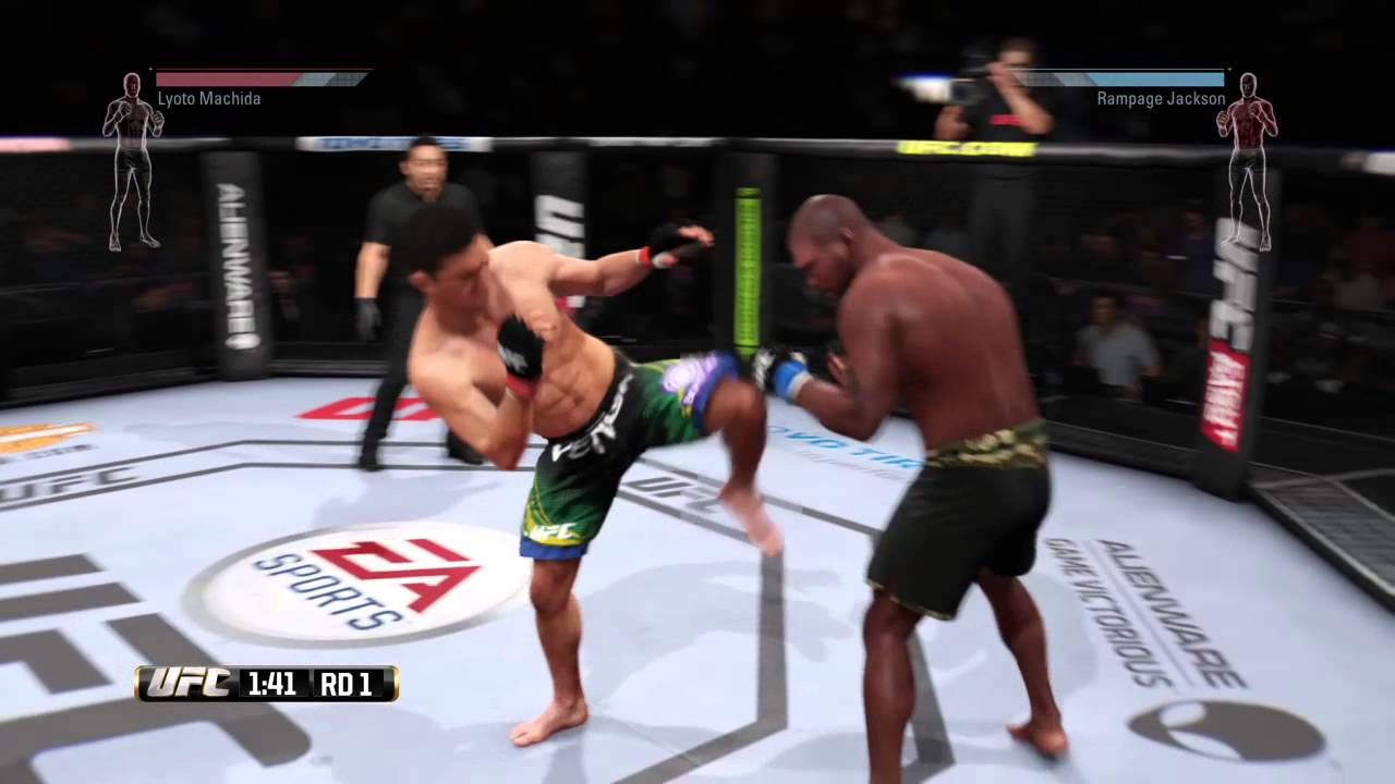 EA SPORTS™ UFC® Bloody Fight Part 4 Rampage Jackson - YouTube