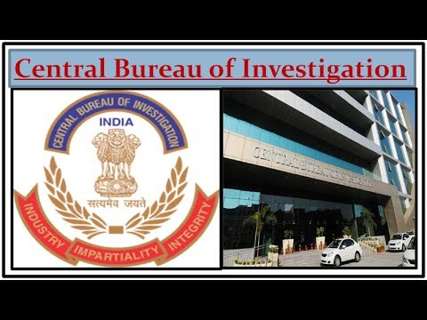 Everything about CBI- (Central Bureau of Investigation) (CBI vs State Police)-(Indian Polity- VeeR)