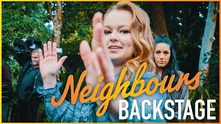 Neighbours Backstage - Jemma Donovan (Harlow Robinson) The Slap!