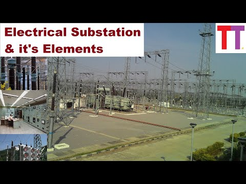 What Is Electrical Substation And Its Elements
