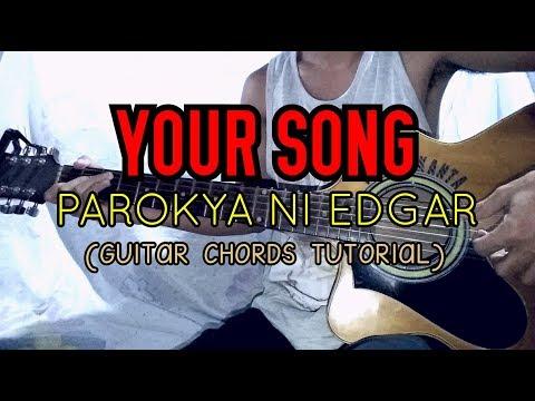 Your Song Parokya Ni Edgar Easy Guitar Tutorial Youtube