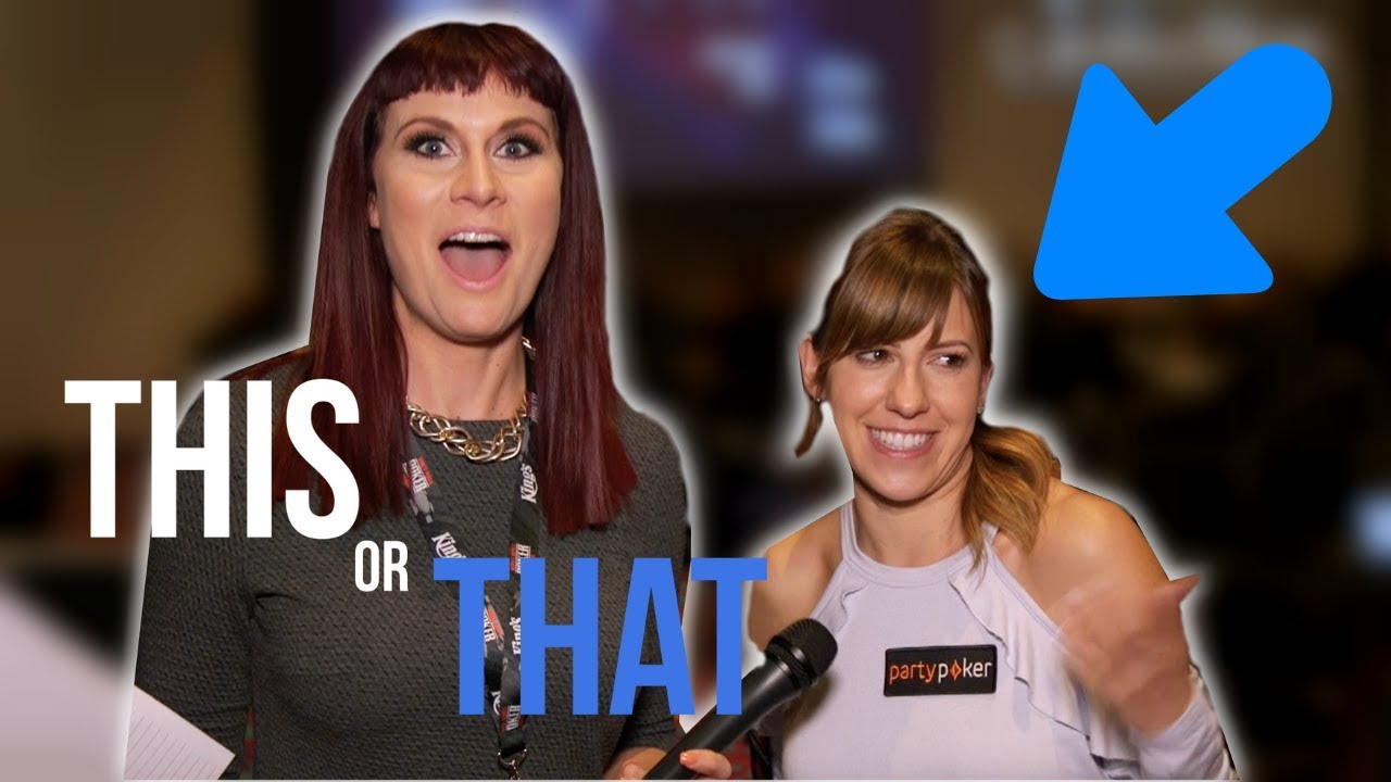 This or That? with Poker Pro Kristen Bicknell