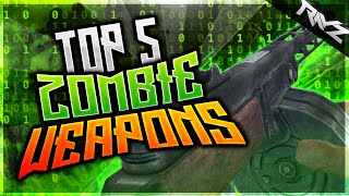 "TOP 5 World At War Weapons I Want In ""BO3 Zombies"" - Top 5 Zombie Weapons (Call of Duty: Zombies)"