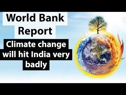 South Asia's Hotspots By World Bank - 50% भारतीयों का भविष्य खतरे में  - India & Climate Change