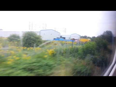 on the way by train to Dartford from Abbeywood Railway Station 19th July 2017