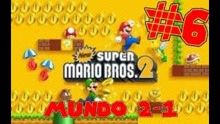 Guia de New Super Mario Bros 2 [100%] Parte 6   Mundo 2-1