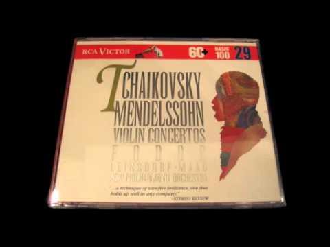 Eugene Fodor TCHAIKOVSKY Violin Concerto 3