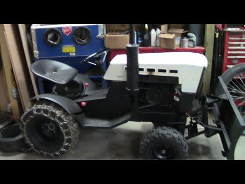 10hp Diesel Roper Sears Garden Tractor Build Part 6