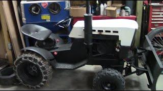 10hp Diesel Roper / Sears Garden Tractor ***build Part 6***