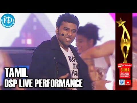 SIIMA 2014 Tamil - Devi Sri Prasad SINGAM Dance Song Performance