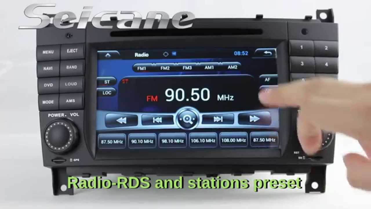 How to set radio stations in mercedes cars inspiration for Mercedes benz radio