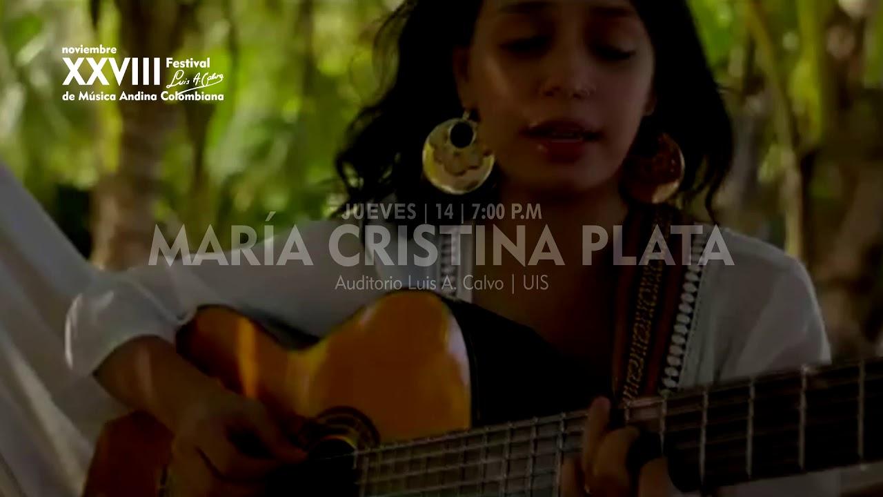 María Cristina Plata Xxviii Festival Luis A Calvo De Música Andina Colombiana Youtube