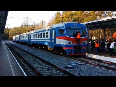 Inside a Russian Regional Train in Kaliningrad