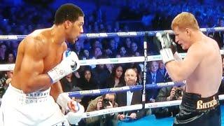 Anthony Joshua vs Alexander Povetkin LIVE Reaction (NO FIGHT FOOTAGE)
