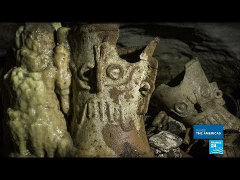 Mexico - Beneath The Ruins: Treasure Trove Of Hundreds Of Mayan Artifacts Found