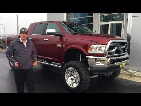 "4 Inch Lift >> 2017 RAM 2500 MEGA CAB WITH 5 - 6"" KELDERMAN AIR LIFT FROM DENNIS DILLON RAM AND SAWTOOTH USA ..."