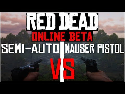 SEMI-AUTO vs MAUSER: Which is the Better Pistol?? - Red Dead Redemption 2 Online thumbnail
