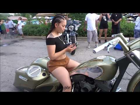 "Bagger Nation - Custom Air Ride Big Wheel 30"" Street Glide Bagger Harley Davidson, Chicago"