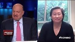AMD CEO Lisa Su on earnings, growth outlook, coronavirus, demand and more