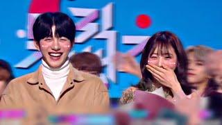 Choi Bomin (최보민) & Shin Yeeun (신예은) Music bank 뮤직뱅크 MC Soft …