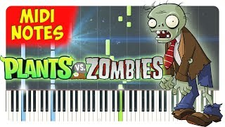 Plants vs. Zombies - Theme Song Piano Cover (Piano Sheets + midi)