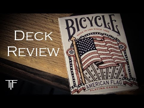 Bicycle American Flag Playing Cards - Deck Review