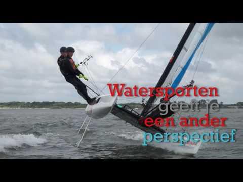 Social Flash Welkom op het water | Catamaran zeilen - 31 aug 16 - 19:55