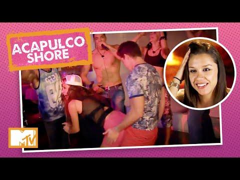 Karime roça num cara em noite de karaoke   MTV Acapulco Shore T1 indir