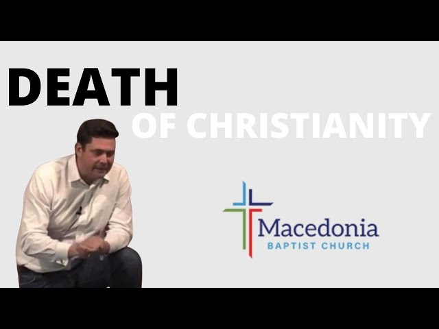 Christianity is Dying | The Death of Christianity Part 1 of 3