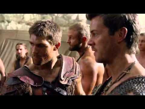 Agron and Nasir - 3x01 - Agron is so proud of his little man