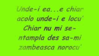 CIA - Unde E Ea [Versuri/Lyrics]