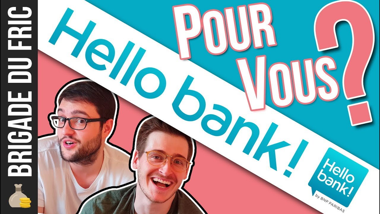 hello bank avis banque en ligne youtube