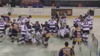 Hokej Poprad- exhibičný zápas St.Louis Blues Alumni & Slovak Stars - Sledge hokej -  Súťaž