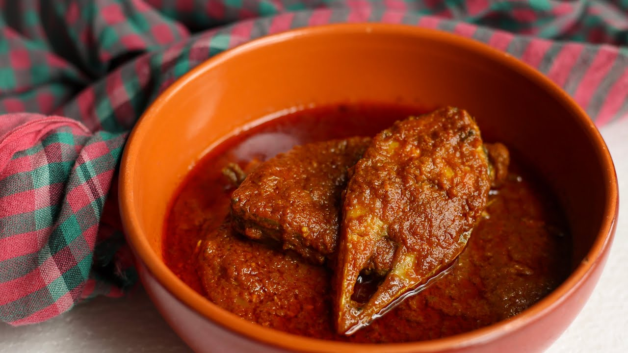 Ilisher kosha jhol spicy hilsha for Max fish menu