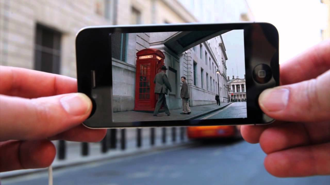 Augmented Reality Cinema - YouTube
