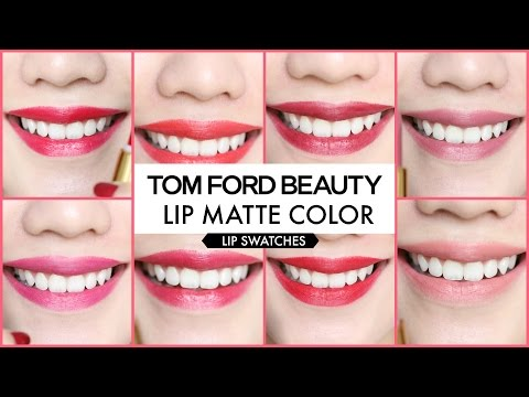 [SWATCH] TOM FORD LIPSTICK COLLECTION - PRIMMY TRUONG