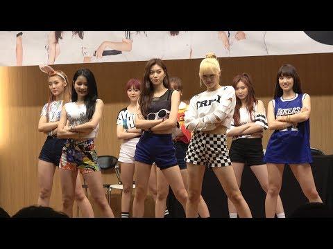 20170812 위키미키(WekiMeki) 당산 1ST 팬사인회 IDLYG 무대 영상
