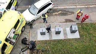 Oslo: Amokfahrt im Krankenwagen - Mutter und Kinder verletzt
