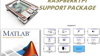 raspberrypi support package with matlab