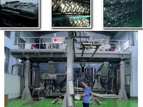 DDSJ350X6C DADAU Extrusion Blow Molding Machine for ...