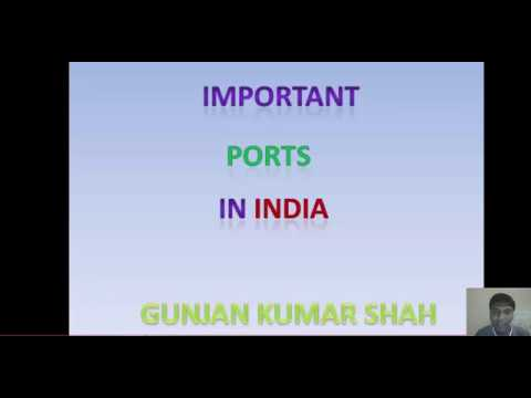 Important Ports in India