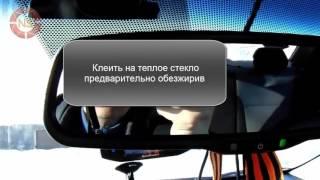 Установка видеорегистратора в автомобиль Хендай Солярис