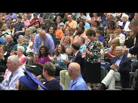 2018 Pamlico Community College Commencement ceremony