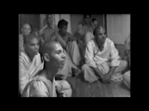 Room Conversation, Living Outside the Temple, NYC, 1972 (Sub ITA-ENG-GER-SPA)