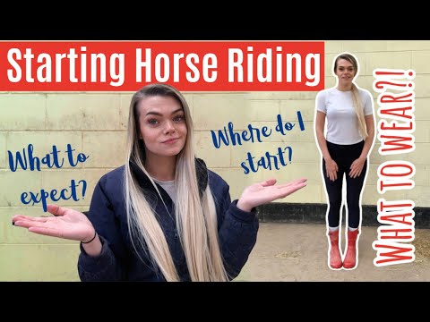 How To Start Horse Riding & Preparing For Your First Lesson | Beginner Series | Lilpetchannel