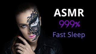 АСМР Триггеры для расслабления и мурашек Девушка Веном поможет уснуть Арт макияж на Хэллоуин
