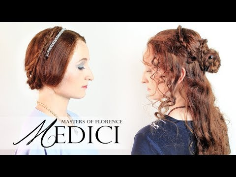 Medici: Masters of Florence  Straight and Curly Hair Tutorials from the Show
